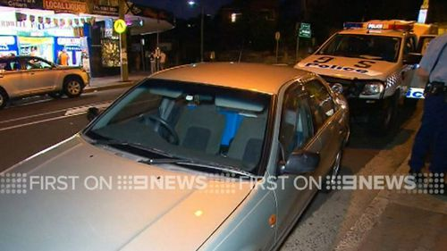 160kg of pseudoephedrine was found in a Toyota Camry after it crashed into two parked cars. (9NEWS)