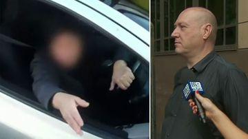 Man cops good behaviour bond for explosive road rage tirade