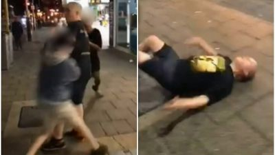 Young boy lands sickening punch on man in Perth