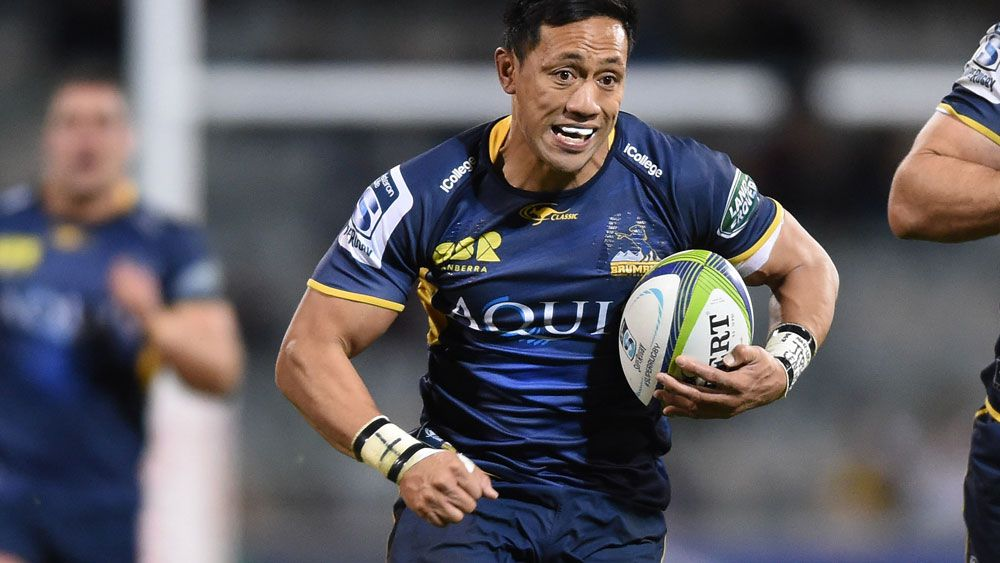 Christian Lealiifano plans on playing again. (AAP)