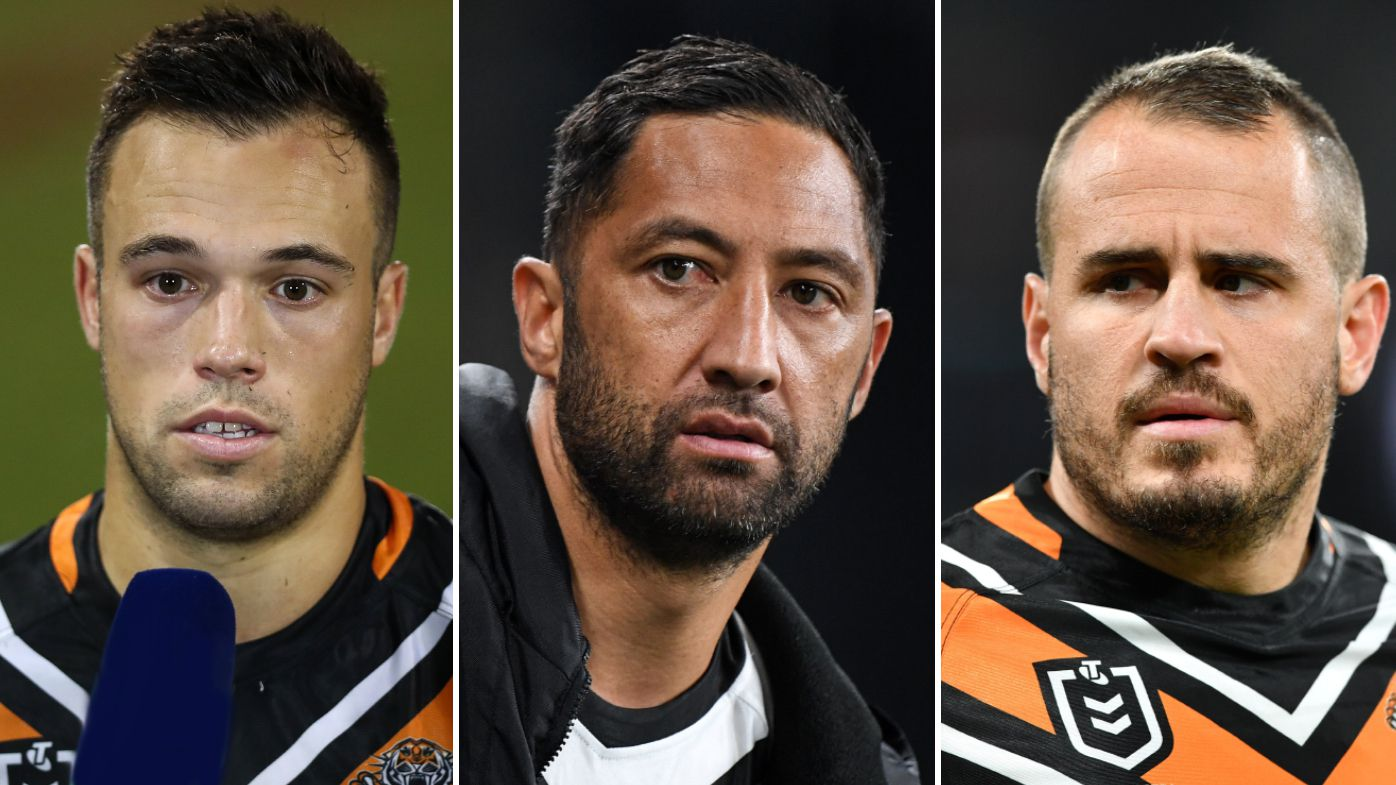 Luke Brooks, Benji Marshall, Josh Reynolds