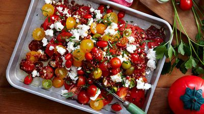 "<a href=""http://kitchen.nine.com.au/2016/05/16/13/11/mixed-tomato-salad-with-pomegranate-dressing"" target=""_top"">Mixed tomato salad with pomegranate dressing</a>"