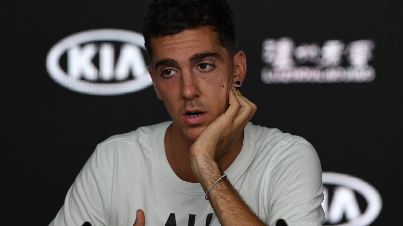 Kokkinakis 'disappointed' over missing out on wildcard after retiring hurt in first round