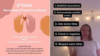 TikTok's push to address sexual assault during awareness month