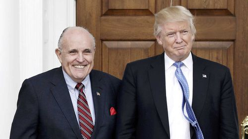 Rudy Giuliani is one of the most colourful characters in Donald Trump's orbit.