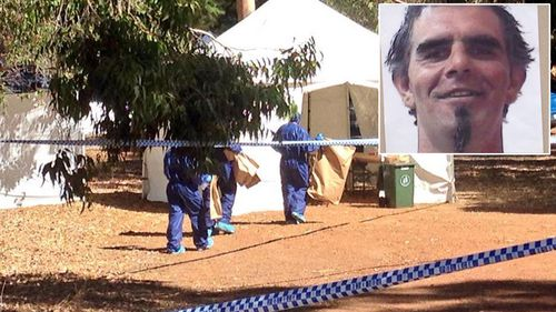 WA police are hunting John Michael Mackinnon after they found his sister dead and his nephew badly injured on Tuesday night. (9NEWS)