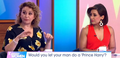 Loose Women Harry and Meghan