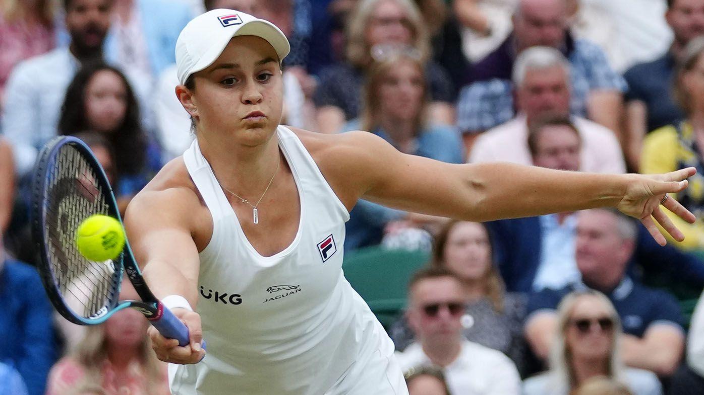 Wimbledon 2021: Ash Barty beats Alja Tomljanovic, makes first All England Club semi