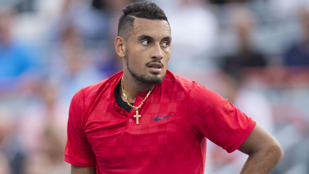 New balls please: Kyrgios marches on