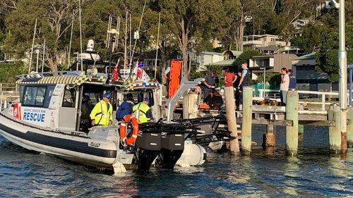 Boat crash Broken Bay Sydney