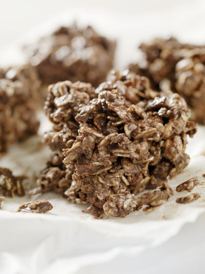 <strong>Protein and rolled oat clusters</strong>