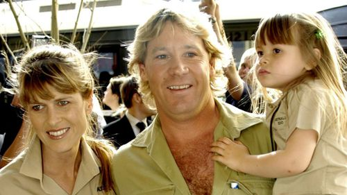 Terri, Steve and Bindi Irwin. (AAP file image)