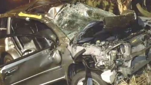 Eight years ago, his car aquaplaned and rolled multiple times, changing his life forever. (9NEWS)