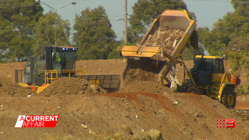 Health fears as fire in landfill continues to burn