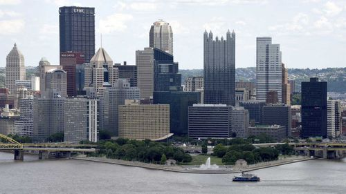 The city of Pittsburgh. (AAP)