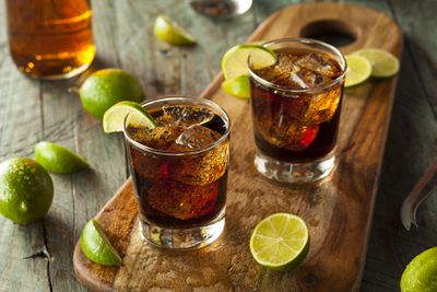 <strong>9. Rum and Coke</strong>