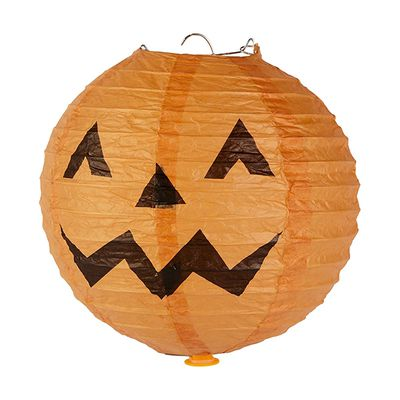 "LED Light up pumpkin lantern, $4 <a href=""http://www.kmart.com.au/product/led-light-up-lantern/1049810"" target=""_blank"">Kmart</a>."