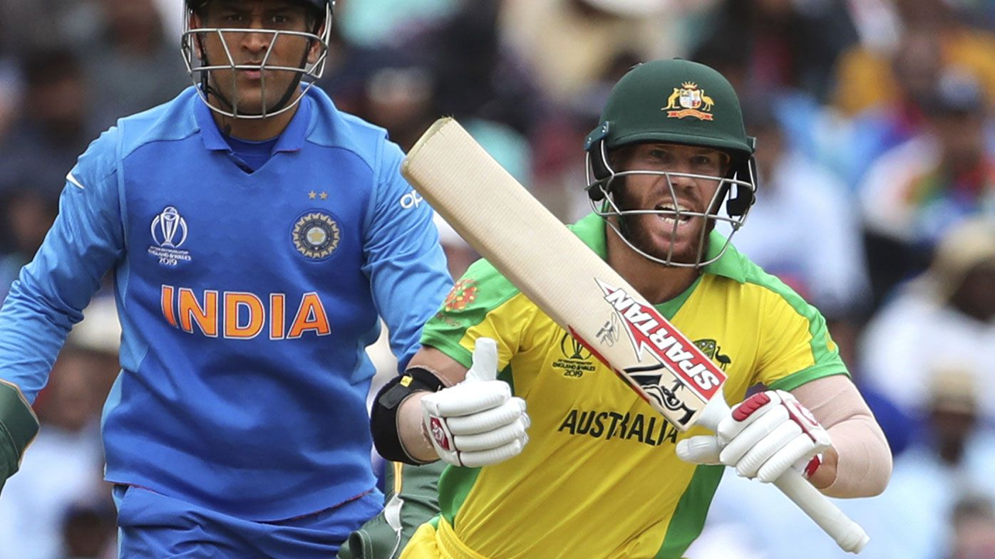 Australia back World Cup chase approach after David Warner's slowest-ever 50
