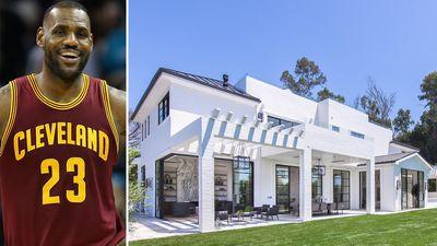 LeBron James drops $30m on lavish LA mansion