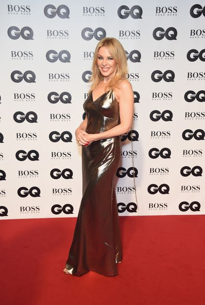 Kylie Minogue in Stella McCartney at the 2018 GQ Men of the Year Awards