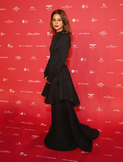 Vogue Australia's Christine Centenera at the 2018 MAAS Centre for Fashion Ball