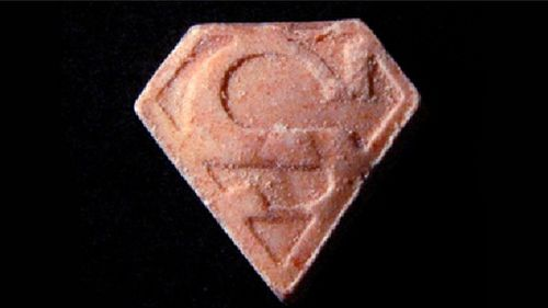 Paramethoxymethamphetamine (PMMA) is marketed as MDMA or ecstasy and has been referred to as Death, Dr Death, Killer and Red Mitsubishi. (Supplied, Queensland Police)