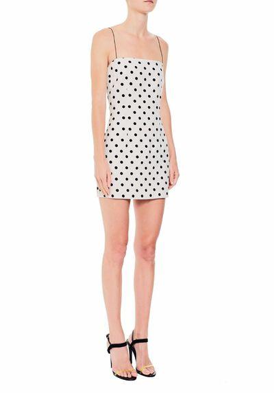"<p><em><a href=""https://www.becandbridge.com.au/dress/anouk-mini-dress.html"" target=""_blank"">Bec and Bridge Anouk Mini Dress, $200</a></em></p>"