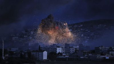 <p>Kobane, also known as Ayn Arab, and its surrounding areas, has been under assault by ISIS extremists since mid-September and is being defended by Kurdish fighters. </p>
