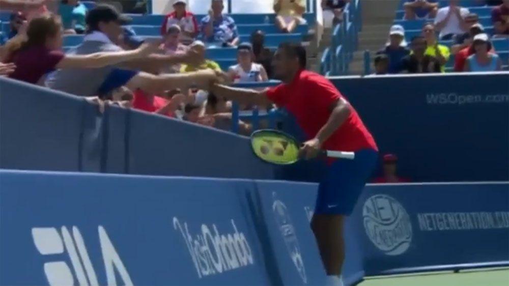 Kyrgios too good for Nadal in Cincinnati
