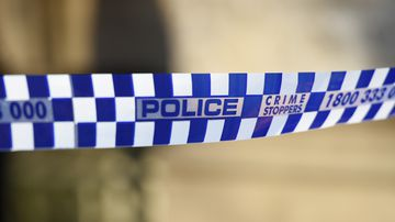 The three-year-old boy died after being hit by a tractor driven by his father in Tasmania yesterday.