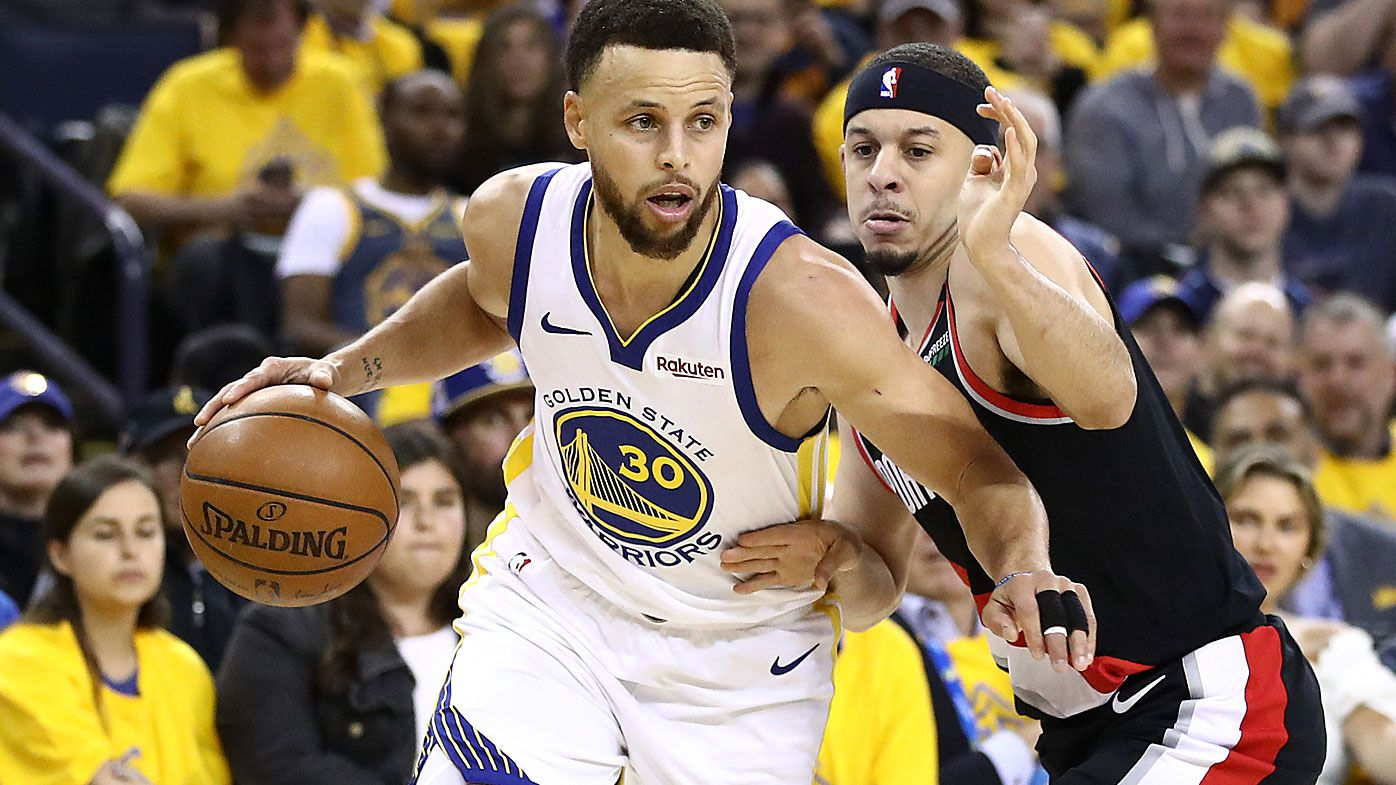 Steph and Seth Curry make NBA history as Warriors beat Portland