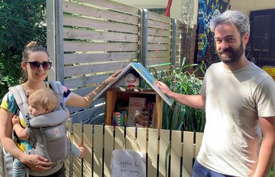 A Sydney couple set up a 'community pantry' during lockdown