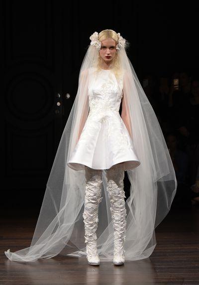 Naeem Khan, Spring 2017, New York Bridal Fashion Week