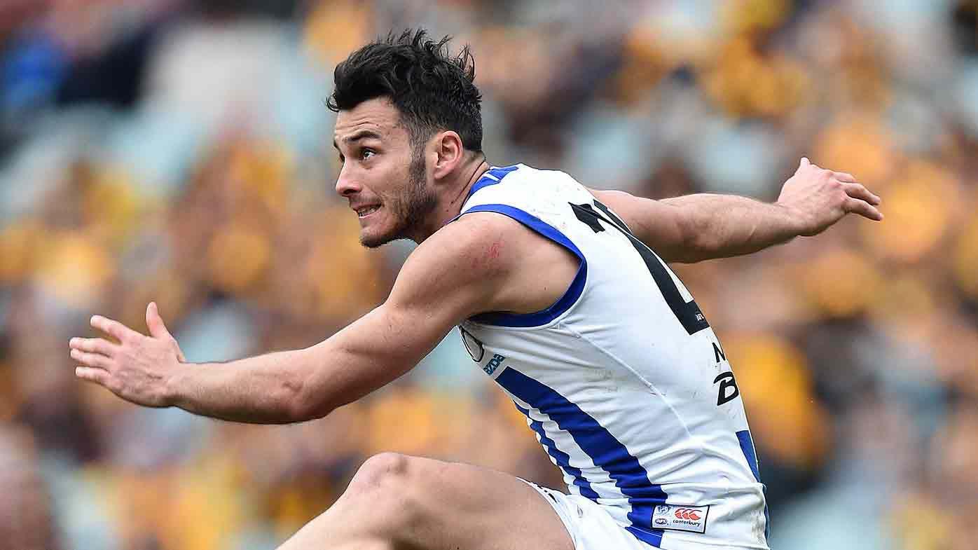 Robbie Tarrant of the Kangaroos