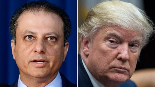 US attorney Preet Bharara fired by Trump administration after refusing to resign
