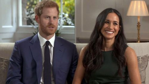 The happy couple look so excited to be engaged in their first official interview.