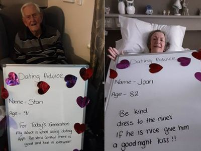 Senior residents at BaptistCare share their best relationship advice