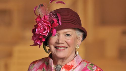 Lady Renouf was renowned in Melbourne social circles for her immaculate grooming and love of hats. (AAP)