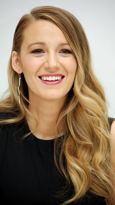 Another reason why Blake owns the acting world's most envious locks.