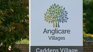 Anglicare Newmarch House aged care facility in Caddens, western Sydney.