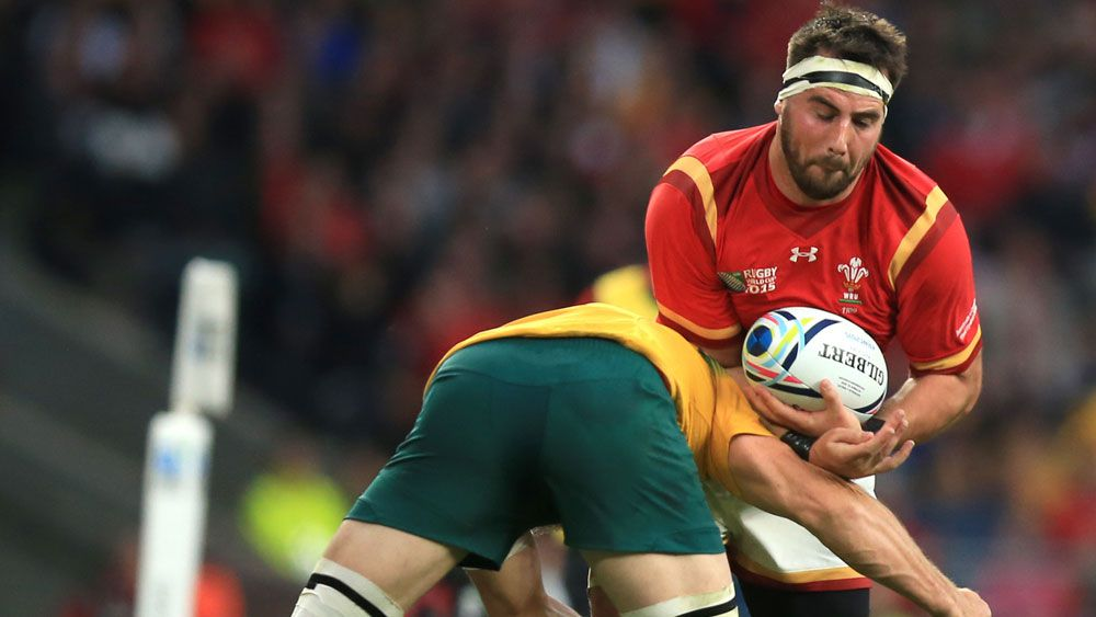 Welsh rugby player Scott Baldwin says injuries from stroking lion's head almost cost him career