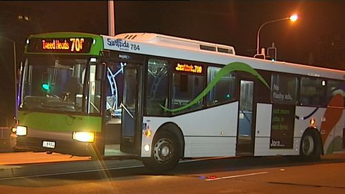 The cause of the bus and car collision remains unknown. (9NEWS)