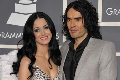 "<b>Relationship status:</b> Going strong<br/><br/>""Katy Perry didn't win an award and she's staying at the same hotel as me, so she's gonna need a shoulder to cry on. So in a way, I'm the real winner tonight."" Russell called it when he hosted the 2009 MTV Music Awards, and well, not long after the ceremony, he and Katy were dating. They were engaged three months later and married before the end of 2010. The strangest thing about this? It looks like this odd couple might actually make it."