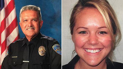 """Jose """"Gil"""" Vega and Lesley Zerebny. (Palm Springs Police Department)"""