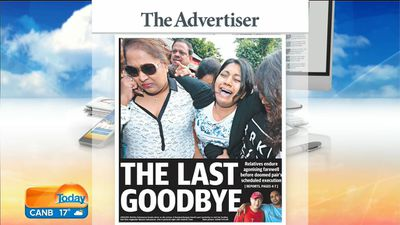 Adelaide's The Advertiser. (9NEWS)