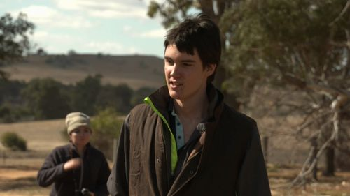 But now - after seven long months in hospital - he's back to help his family on the farm in Coonabarabran, NSW.