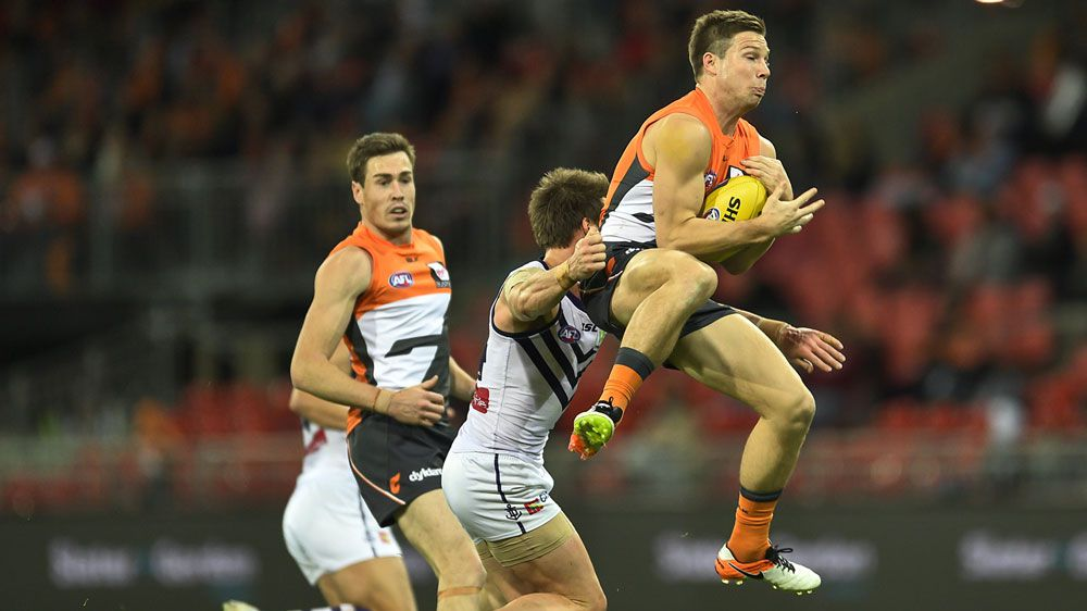 Giants smash Freo by 92 points in AFL
