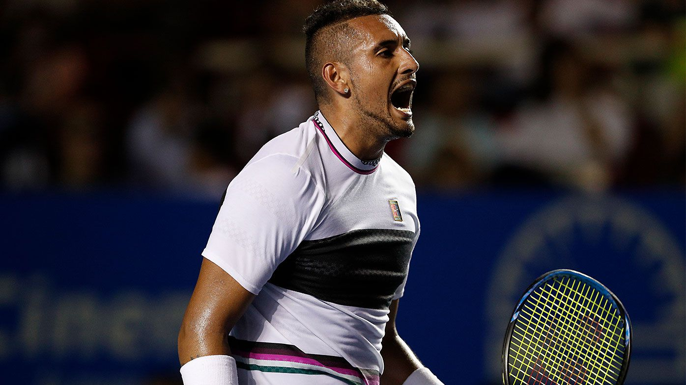 Nick Kyrgios reveals he was drug tested until 3am before Acapulco semi-final