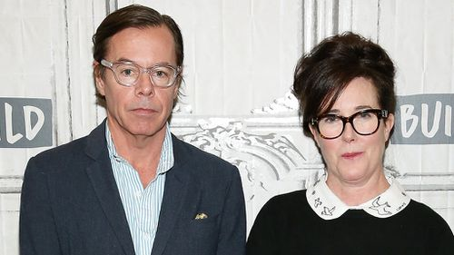Andy Spade said his wife Kate was seeking help for anxiety and depression in the lead up to her death.