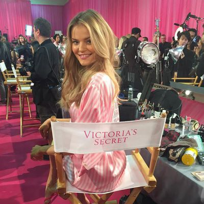 Kate Grigorieva takes her seat at the VS table for the first time.